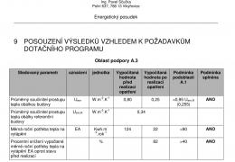 Výpočet a zhodnocení navržených úprav