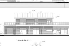 Rodinný dům - dřevostavba zapuštěná do terénu - Rapotín